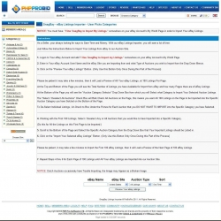 "SnagBay ""Professional"" eBay Listings Importer V3 - Direct to eBay Categories for 6.10"