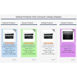 7.4 - 7.5 and Up - PHP ProBid Home Page Add-Ons - Products Only Vertical Carousels Display