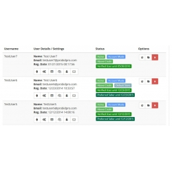7.XX - PHP ProBid Admin - Members List View Labels Alignment Fix