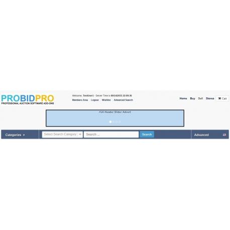 v7.0 to v7.10 - PHP ProBid Server Time Display in Header