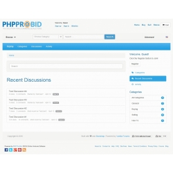 7.XX and Up - Vanilla Forums Embed and SSO Integration for PHP ProBid
