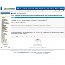 SnagBay eBay Category Structure Importer for 6.07