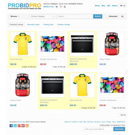v7.4 to v7.10 - PHP ProBid Home Page Carousel Listing Items Per Page