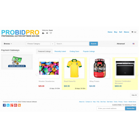v7.4 to v7.10 - PHP ProBid Home Page Extras - Payment Gateways Carousel - Left Column