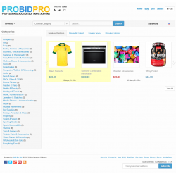 v7.4 to v7.10 - PHP ProBid Home Page Extras - Vertical Top Categories Display - Left Column