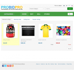 v7.0 to v7.10 - PHP ProBid Kelly Green Theme - Home Page CSS Fixes