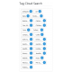 v8.0 and Up - PHP ProBid Home Page Extras - CSS Tag Cloud Display - Left Column - Custom Install Only