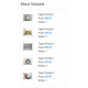 v8.0 and Up - PHP ProBid Home Page Extras - Most Viewed Listings Display - Left Column - Custom Install Only