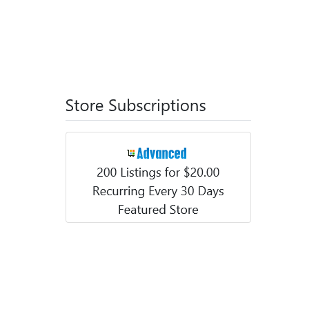 v8.0 and Up - PHP ProBid Home Page Extras - Store Subscription Carousel - Left Column - Custom Install Only